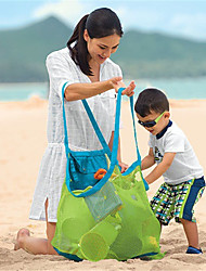 Outdoor Children'S Toy Bag Finishing Tool Sundry Receive Grid Dredging Beach Bag