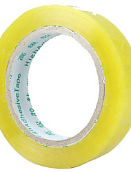 Wide 1.5Cm Thick 3Cm Long 100M Small Transparent Tape Tape Packing Tape Custom Narrow A Tube Ten Volumes