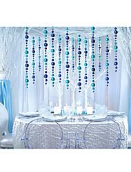 Polietileno Decorações do casamento-1Piece / Set Ornamentos Natal / Ano Novo Tema rústico Vermelho / Prateado / Verde / Azul / Dourado