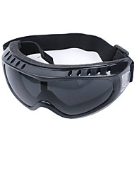 Men And Women Riding Mountaineering Radiation Protection Goggles (Black Ski Goggles)