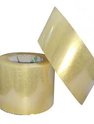 les fabricants peuvent être personnalisés 6cm * 2.5cm Vente en gros transparent ruban d'emballage d'étanchéité des avertissements de bande