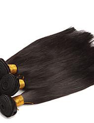 4 предмета Прямые Ткет человеческих волос Евро-Азиатские волосы Ткет человеческих волос Прямые