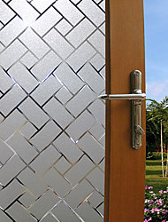 Window Film Window Decals Style Geometric Fashion PVC Window Film - (100 x 45)cm