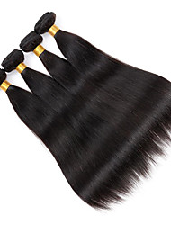 4Bundles/Lot 100g/pcs Virgin Human Hair Silky Straight Unprocessed Hair Products Cheap Hair
