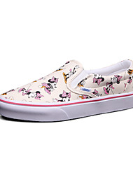 Vans X Disney Slip-On Women's Shoes Animal Print Canvas Outdoor / Athletic / Casual Sneakers Indoor Court