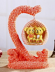Desk Lovely Handicraft Swing Bear Furnishing Articles