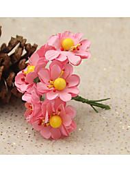 Techniques blanc / Beige / orange / rose / jaune / vert / bleu / pourpre 1pc Floral Crafts