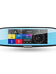 ren em60 espelho retrovisor inteligente de navegação 7 polegadas cão eletrônico condução gravador integrado máquina