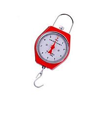 escala do metal de mão gancho (gama de pesagem: 10 kg- 50 g, vermelho)