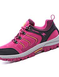 Коричневый / Зеленый / Фиолетовый / Красный-Мужской-Для занятий спортом-Замша-На плоской подошве-Удобная обувь-Спортивная обувь