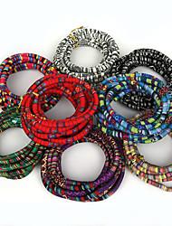 beadia multicolors 5mm cabo de tecido Bohemia corda (3mts)