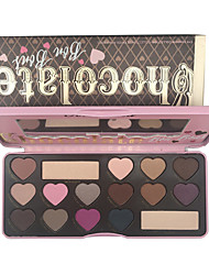 New 2 Generation Faced Chocolate Bar Too Chocolate 16 Color Eye Shadow