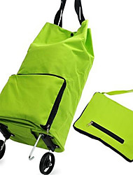 Portable Foldable Shopping Trolley Wheel Package Bags