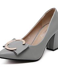 Women's Heels Fall Heels Leatherette Outdoor Low Heel Others Black / Green / Gray Others