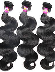 Brazilian Virgin Hair Body Wave 3 Bundles Grade 7A Unprocessed Virgin Human Hair Weave Extensions