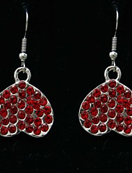 Elegant Heart Design Alloy Earring Suit for Wedding/Special Occaision / Party Jewelry .