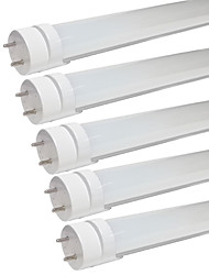KWB 5 Pack of T8 LED Tube Light ,3Ft,15W,Warm White/Cool White Fluorescent Replacement Light Lamp