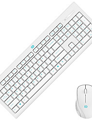 Waterproof Wireless USB Keyboard & Mouse Suit  For desktop