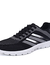 Men's Shoes Athletic Fabric Fashion Sneakers Black / Gray / Blue