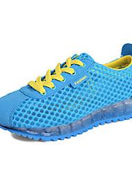 Da donna-Sneakers-Sportivo-Ballerine-Piatto-Tulle-Blu / Rosso / Grigio