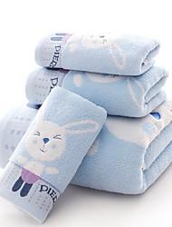 "1 Piece Full Cotton Thickening  Bath Towel 55"" by 27"" Cartoon Pattern Super Soft"