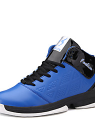 Men's Sneakers Comfort PU Outdoor Athletic Lace Up Basketball Shoes