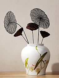 Hi-Q 1Pc Decorative Flowers Lotus Leaf Wedding Home Table Decoration Artificial Flowers