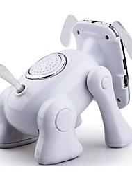 dessin animé chien robot haut-parleur bluetooth mini-home cinéma voiture support téléphone audio stéréo