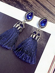 Tassel Earring Jewelry 1 pair Fashionable Alloy Silver Daily / Casual