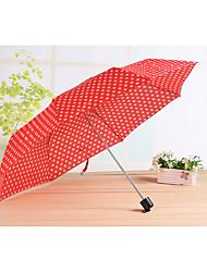 Разные цвета Складные зонты Зонт от солнца / Солнечный и дождливой / От дождя Металл / текстиль / силиконовыйАксессуары на коляску / Дети
