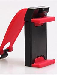 de direcção do carro volante telefone do carro roda de navegação titular do telefone do carro clipe de titular 5-8.5cm vermelho