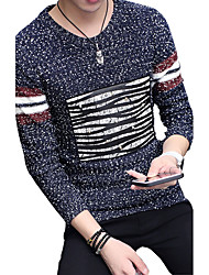 In the autumn of 2016 new male head neck sweater set trend of Korean men thin long sleeved sweater