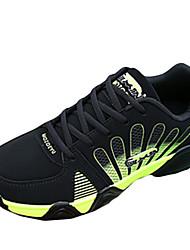 Herren-Sneaker-Lässig Sportlich-PU-Niedriger Absatz-Komfort-Blau Grün Rot