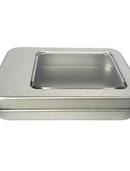 cor prata embalagem material metal&transporte estanha a um pacote de quatro