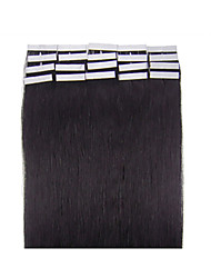 "18""-30"" Unprocessed Human Virgin Tape Hair Extension PU Skin Weft Hair Extension In Stocks"