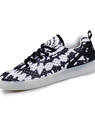 Women's Sneakers Spring / Fall Comfort Tulle Athletic / Casual Flat Heel Others / Black and White / Orange Sneaker
