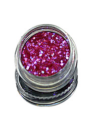 1 Bottle Nail Art Match Color Highlight Glitter Shining Colorful Powder Nail Makeup Beauty 11