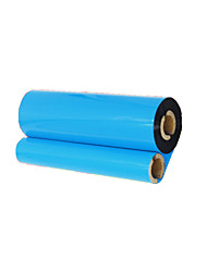 Quality Wax Ribbon 110 * 90 Bar Code Printers Label Machine Ribbon Small Double-Tube Core 1006