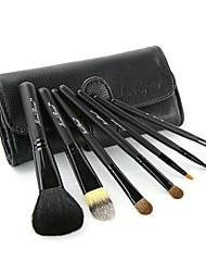 7Pcs Animal Hair Makeup Brush Sets