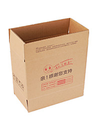 Yellow Color Other Material Packaging & Shipping Three Layer Hard KK Printing Packing Boxes A Pack of Eight