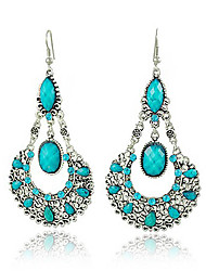 Drop Earrings Alloy Bohemia Statement Jewelry Jewelry Black Red Blue Jewelry Daily Casual 1 pair
