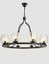 Pendant Light ,  Traditional/Classic Painting Feature for Mini Style Metal Living Room Bedroom Dining Room