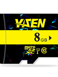 yisen 8gb UHS-I u1 / aula 10 microSD / microSDHC / microSDXC / tfmax ler speed80 (mb / s)
