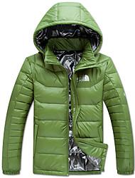 The North Face Men's Down Jacket Outdoor Sports Trekking Camping Hiking Waterproof Windproof Full Zipper Jackets