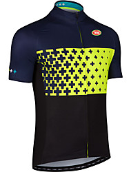 Sports Bike/Cycling Tops Men's Short Sleeve Breathable /Ultra Light Fabric LYCRA® / Terylene / CoolmaxClassic