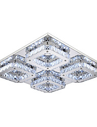 32W Flush Mount ,  Modern/Contemporary Electroplated Feature for LED Metal Bedroom / Dining Room / Hallway