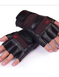 Outdoor Semi Finger Cycling Gloves Motorcycle Mountain Bike Men And Women Thin Gloves