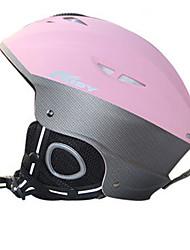 AIDY® Helm Unisex Schneesporthelm Extraleicht(UL) / Sport Sportschutzhelm Rosa Schneehelm ASTM F 2040 PC / EPS Schnee Sport / Ski