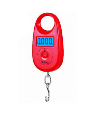 Mini Portable Electronic Scale (Max Scale: 25KG,Red (Backlight))