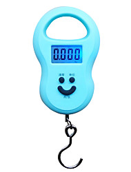 Other Material AA Battery Power Blue Color Weighing Scales Electronic Scales